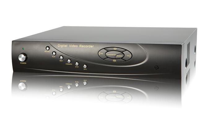 4 - канален цифров видеорекордер TVT-TD2304SE